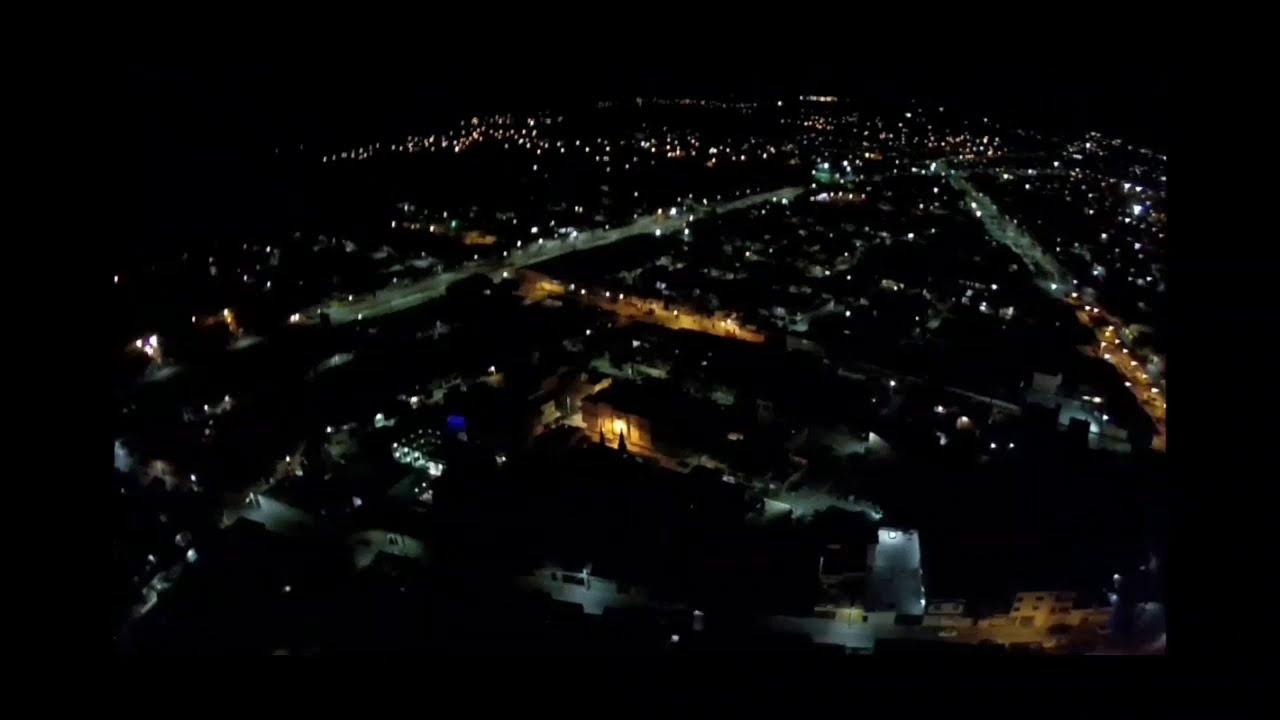 """Prueba de altura de noche con el hubsan h501s """"170m"""" фото"""