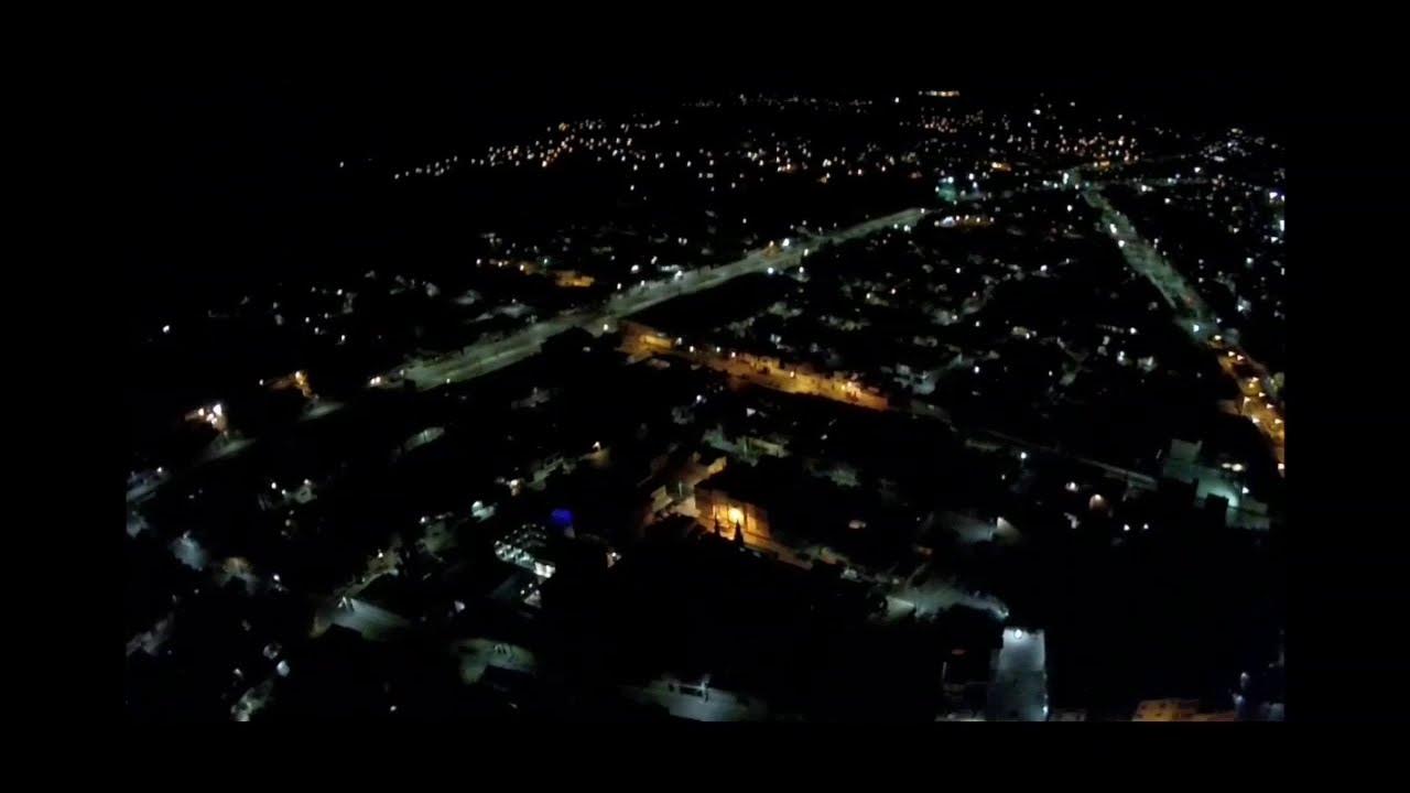 """Prueba de altura de noche con el hubsan h501s """"170m"""" фотки"""