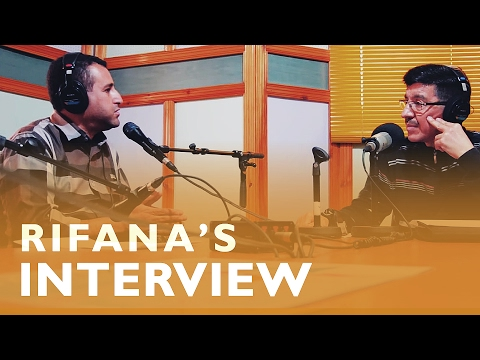 Rifana's Interview with Amazigh Radio (Rabat)