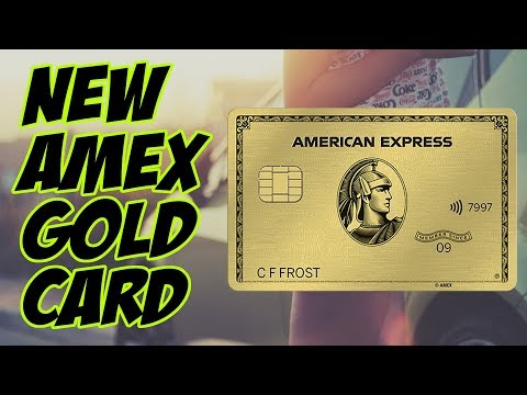 NEW American Express GOLD CARD Value Analysis (They're FINALLY Taking Us SERIOUSLY)