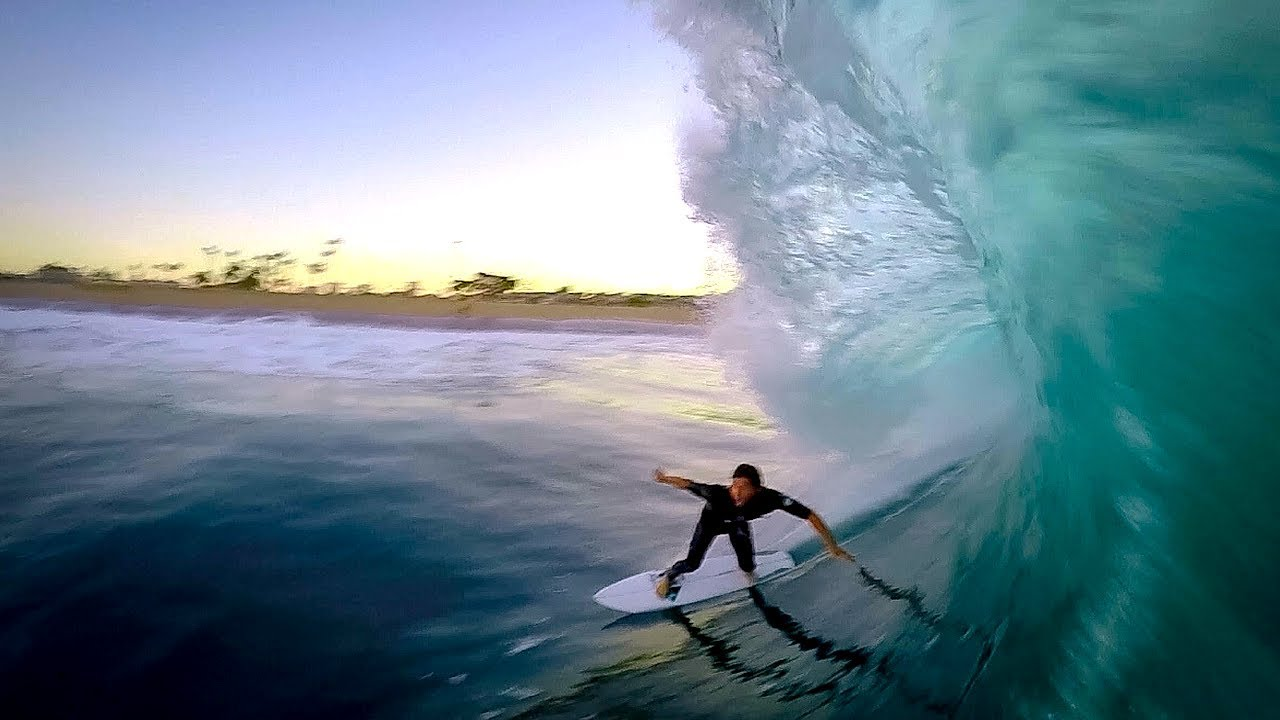 Scoring Hurricane Swell at the Wedge!
