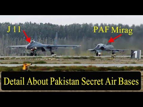 Detail  About  Pakistan air bases |  Secret Air bases of Pakistan || DG