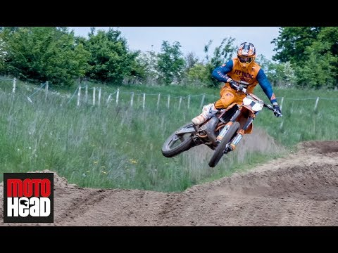 EMX 300 champ Brad Anderson talks about his twostroke KTM 250SX