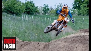 EMX 300 champ Brad Anderson talks about his two-stroke KTM 250SX