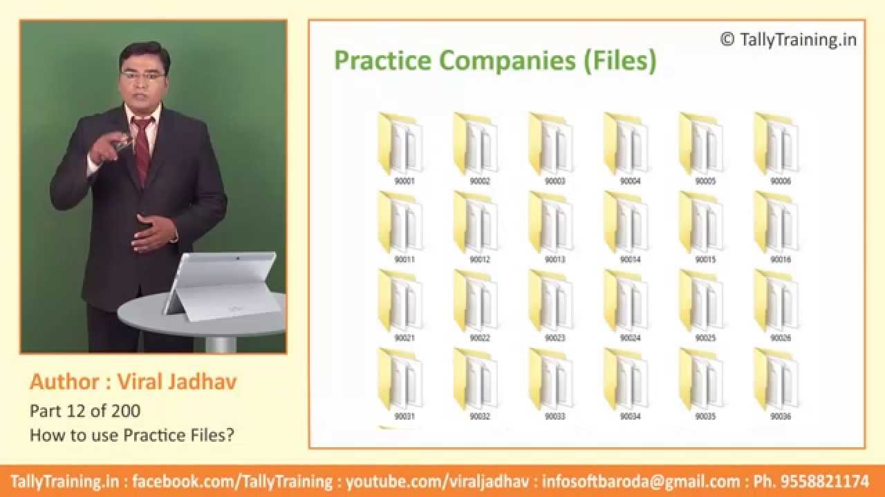 Module 4   Session 1   Practice Files for Tally ERP 9 by Viral     Module 4   Session 1   Practice Files for Tally ERP 9 by Viral Jadhav    Tally Certificate Course   YouTube