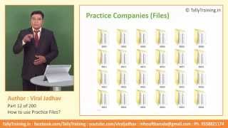 Module 4 | Session 1 | Practice Files for Tally ERP 9 by Viral Jadhav | Tally Certificate Course