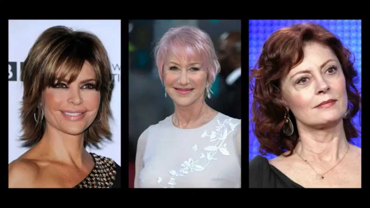 Best hairstyles for women over 60 - YouTube