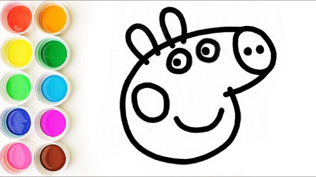 Aprende Los Colores Con Peppa Pig