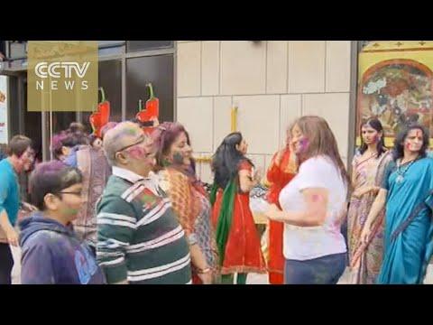 Shanghai expats celebrate Indian Holi Festival