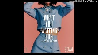 SOMI - What You Waiting For (Almost Official Instrumental)