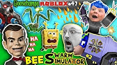 GOOSEBUMPS vs. Spongebob in ROBLOX + FORTNITE helps Chase in BEE SWARM SIMULATOR Again Pt.2 (#47)