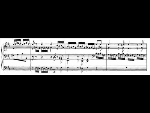 J.S. Bach - BWV 532 - Fuga D-dur / D Major