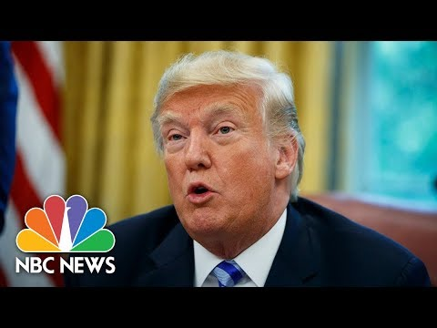 President Donald Trump Announces Grant For Drug Free Communities Support Program | NBC News