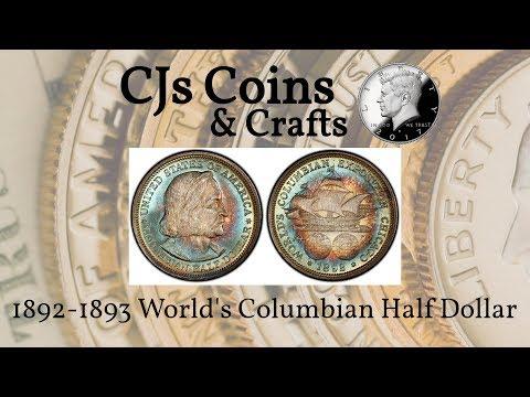 1892-1893 World's Columbian Exposition Half Dollar | CJs Coins & Crafts
