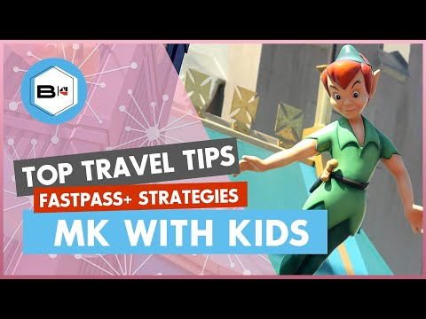 Best Fastpass+ Strategies for Magic Kingdom with Kids - YouTube