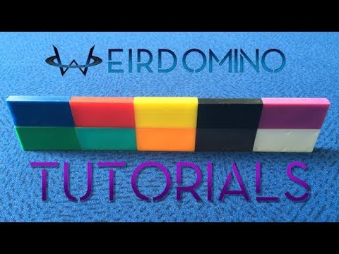 WeirDomino Tutorials - 30 Techniques How to Build