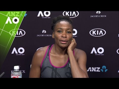 Venus Williams press conference (4R) | Australian Open 2017