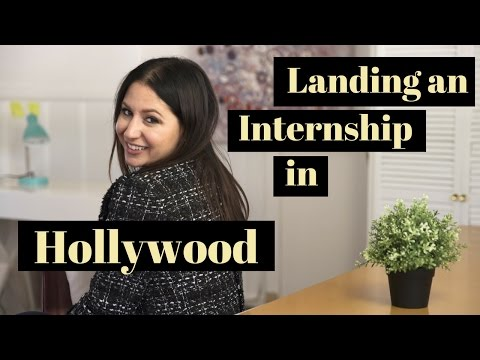 How To Land an Internship in Hollywood! | The Intern Queen