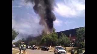 Fire Disaster At Colonial Garden [woodbridge Village] Avenel Nj 07/10/2012