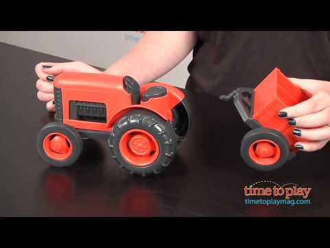 Tractor from Green Toys
