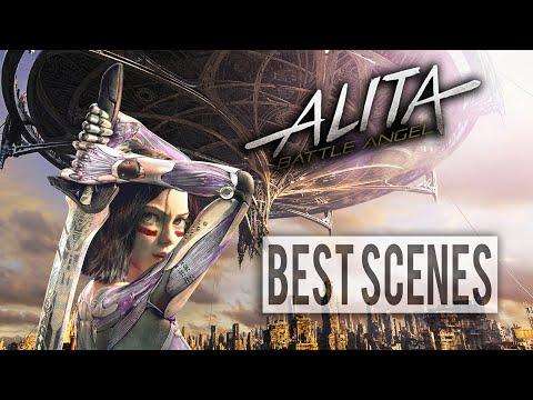 Alita Battle Angel 2019 [ Best Scenes ] HD