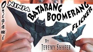 Batarang Boomerang Flicker