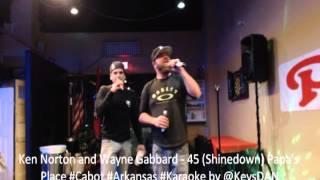 Ken Norton and Wayne Gabbard   45 Shinedown Papa