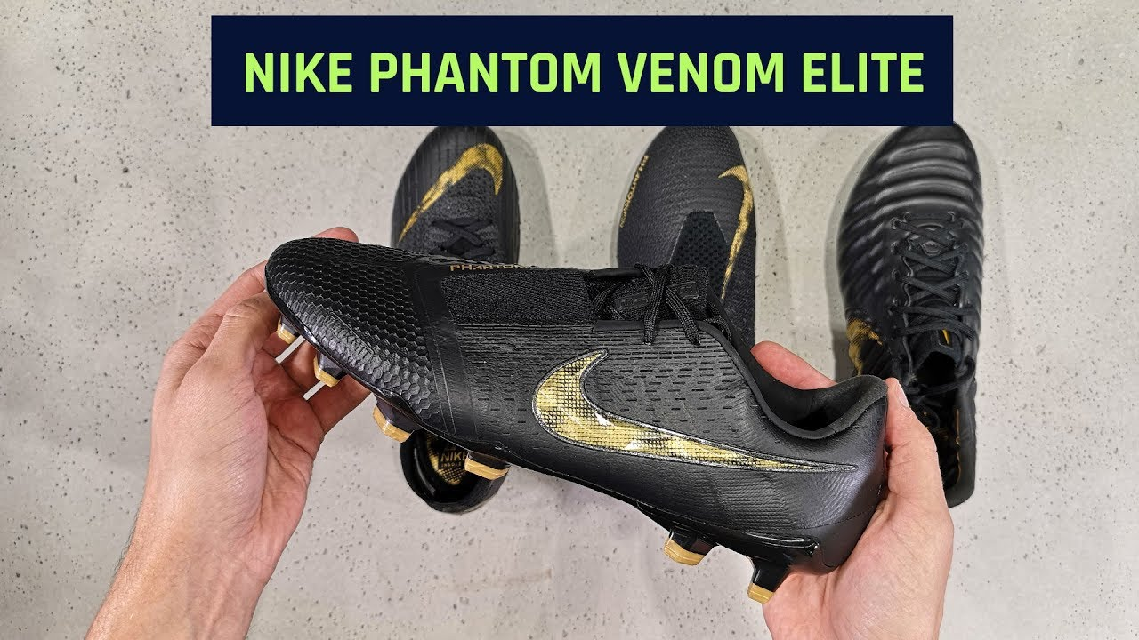 f4d35001b72 Nike Phantom Venom Elite Black Lux