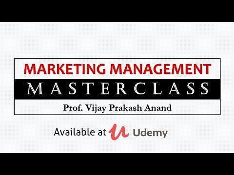 Marketing Management Masterclass by Prof  Vijay Prakash Anand