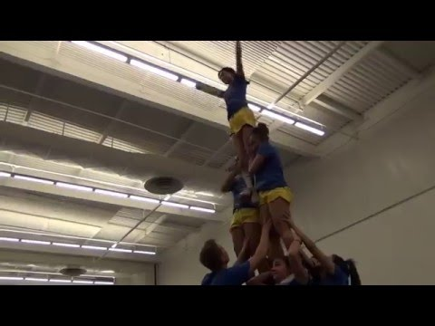 2016 San Jose State Cheer Tryout