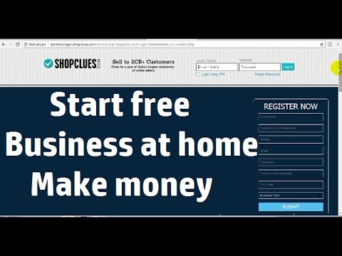 How to make money by start Free online ShopClues business ?