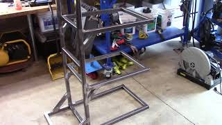 Welder's cart build. Made to order and pickup in Oregon only