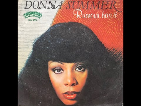 Donna Summer - Rumour Has It (1977 Vinyl)