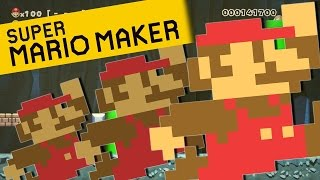 Super Mario Maker Glitch Hack level