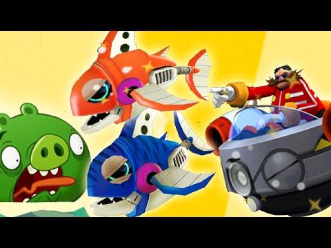 Angry Birds Epic : Final Boss Dr. Eggman - Sonic Dash The Hedgehog