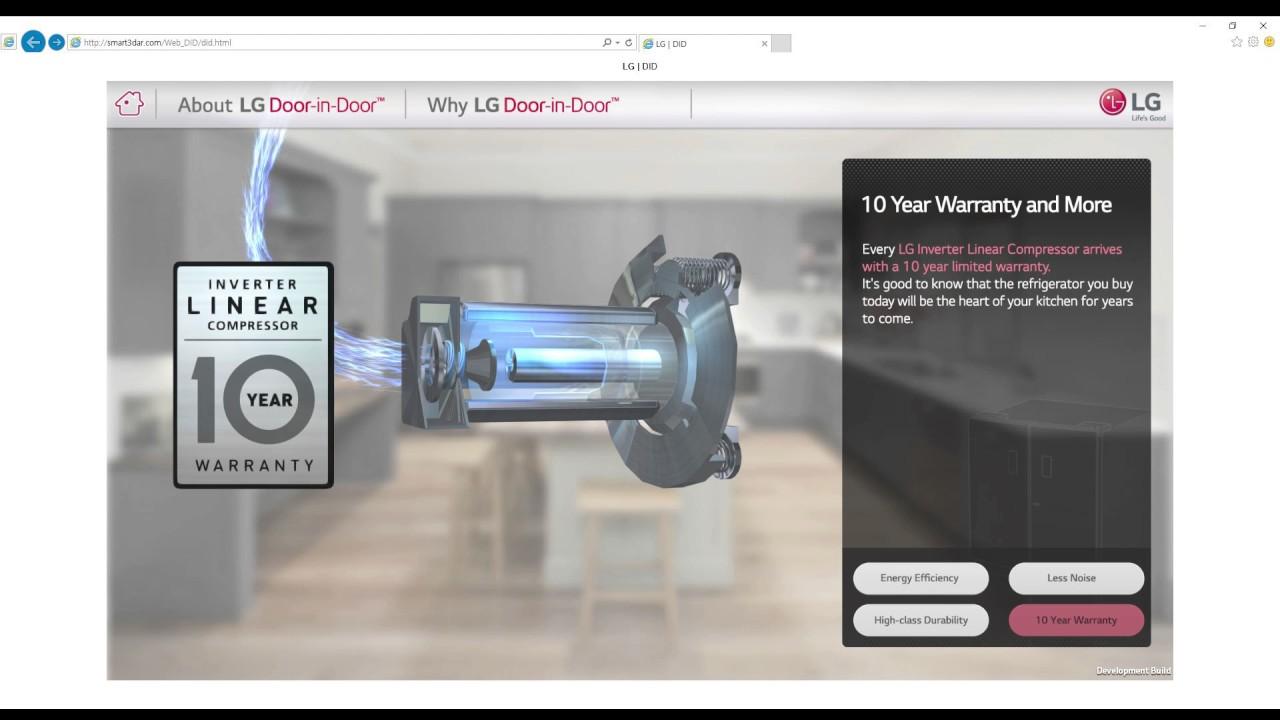 LG DUAL DID(Door In Door) Refrigerator Web ver