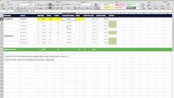 Marketing Campaign Tracking Excel Template For Digital Business