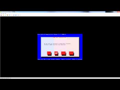 Cisco Unified Communications Manager CUCM 9.1.1 Installation