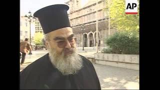 Orthodox Church, Greeks react to new pope