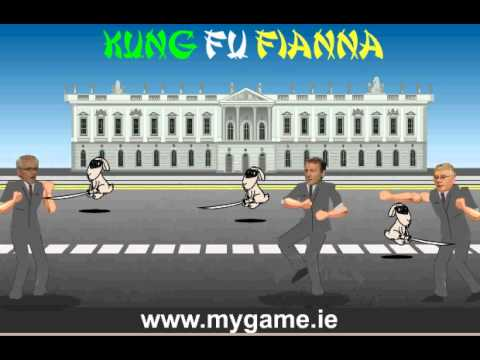 Kung Fu Fianna -- Ireland's 2011 political election game