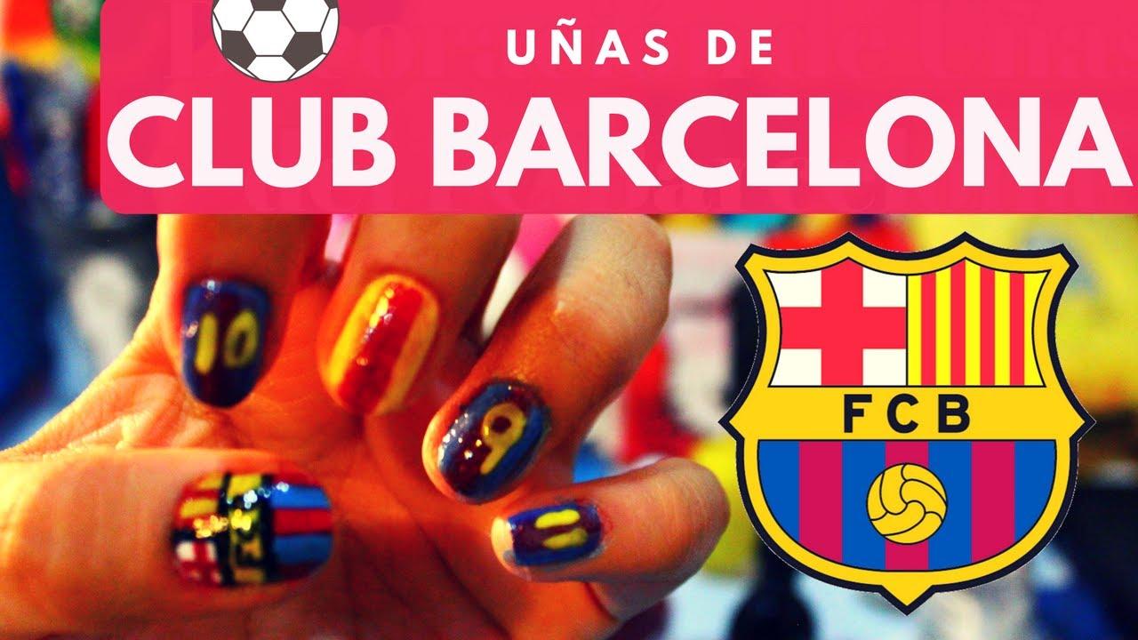 Uñas Pamboleras Del Fc Barcelona Sel Vega Youtube