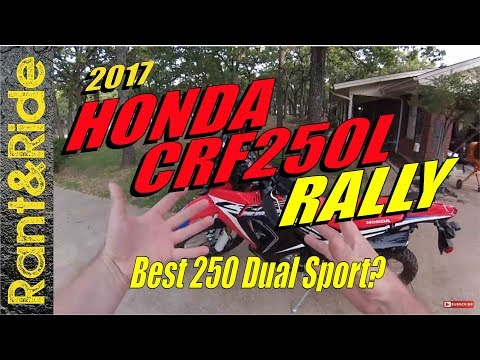 2017 honda crf250 rally review - Best honda crf 250 rally road test