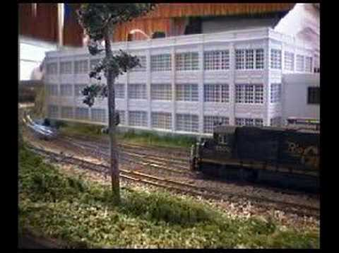 N scale model railroad California Coast The Movie