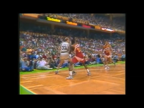 Greatest Moments in NBA History - Larry Bird vs Dominique Wilkins, 1988 Eastern Conf. Semifinals