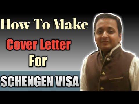 Best Cover Letter For Schengen Visa | Schengen Visa Cover Letter For Tourism
