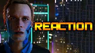 Detroit: Become Human Amazing PS4 Gameplay Trailer Reaction E3 2016!