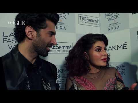 Jacqueline Fernandez at Manish Malhotra for Lakmé Fashion Week winter/festive 2017
