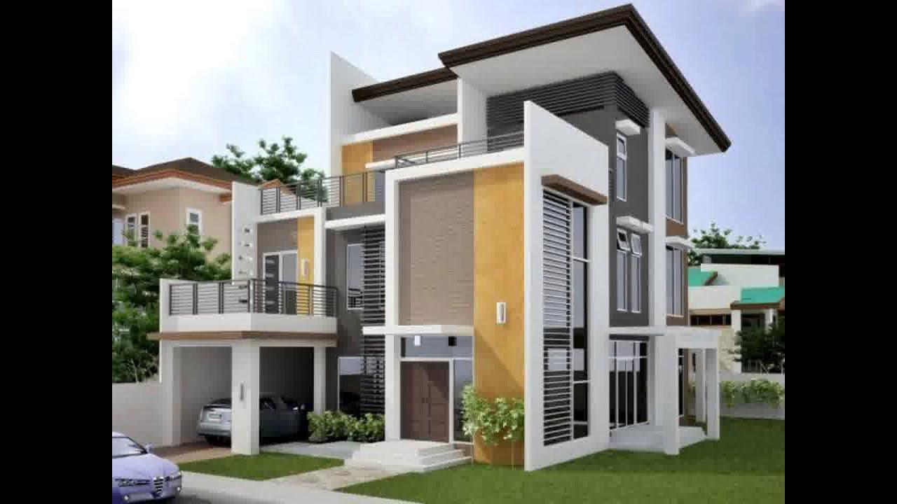 Desain Rumah Minimalis 2 Lantai Luas Tanah 100m2 Yg Sedang Trend