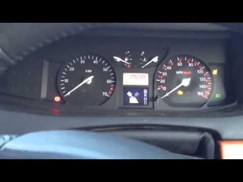 Renault Vel Satis 3.5 V6 Starting