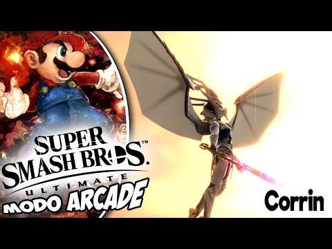 Super Smash Bros Ultimate - Smash Arcade - Corrin - Classic mode thumbnail